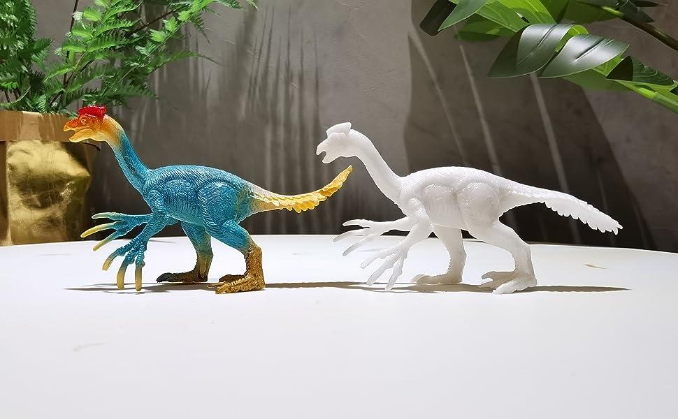 Color contrast of Oviraptor