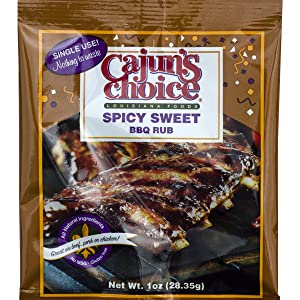 Cajun's Choice Spicy Sweet BBQ Rub