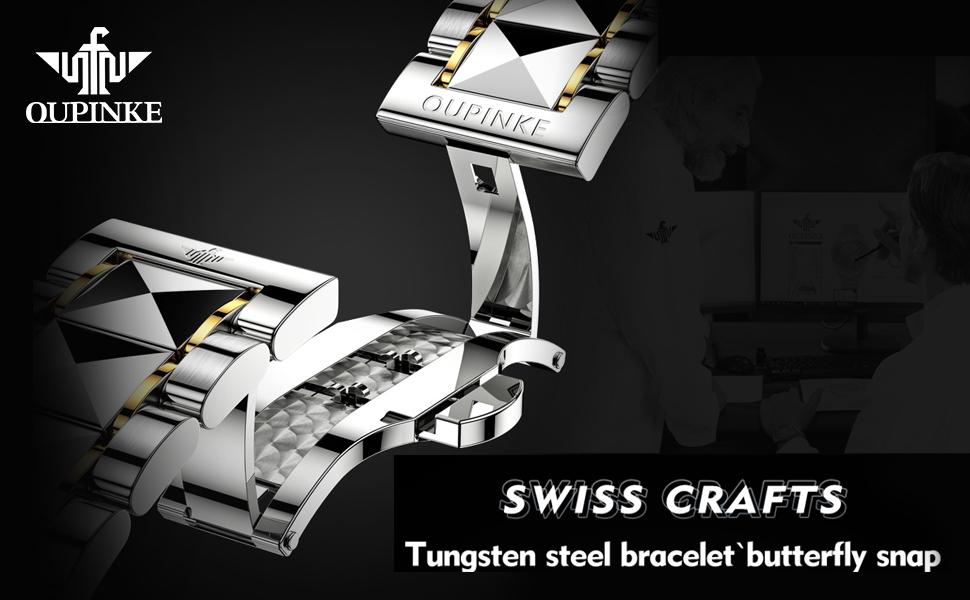 tungsten steel watches