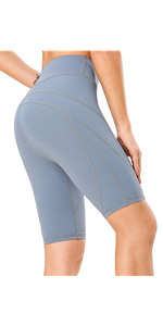 High Waist Tummy Control Yoga Shorts
