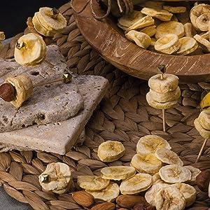 Banana Dried Fruit Snacks