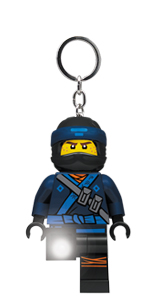 LEGO Ninjago Movie Jay Key Light Keychain