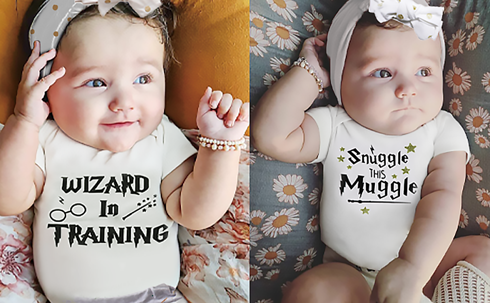 baby boy girls muggle outfit romper