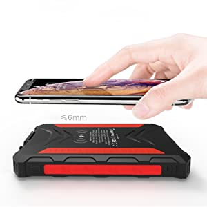 Wireless charging power bank by thunderb