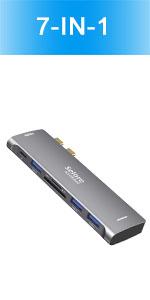 7 in 1 USB C Macbook Pro Adapter