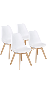 White DSW Dining Chairs