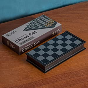 chess  Magnetic Travel Chess Set (9.7 Inches) pieces