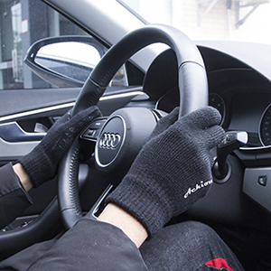 Achiou knitted gloves