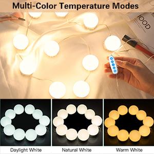 Multi-color temperature