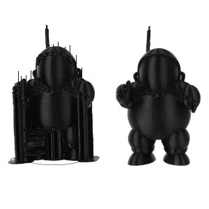 Precisi/ón Dimensional +//- 0.03 mm ELEGOO PLA Filamento de Impresora 3D 1.75mm-Negro 1kg Carrete