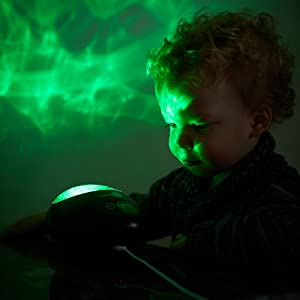 SensoryMoon Projector Night Light Green