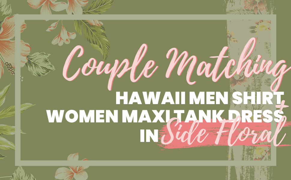 Hawaii Hangover Couples Matching Made in Hawaii Matching Sets Side Floral Mens Womens