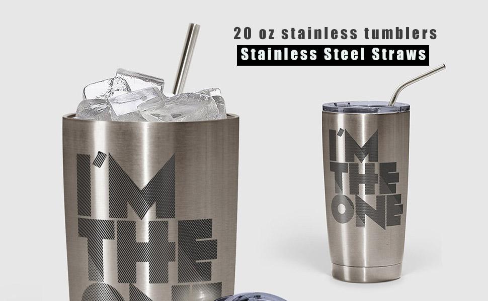 short stainless steel straws