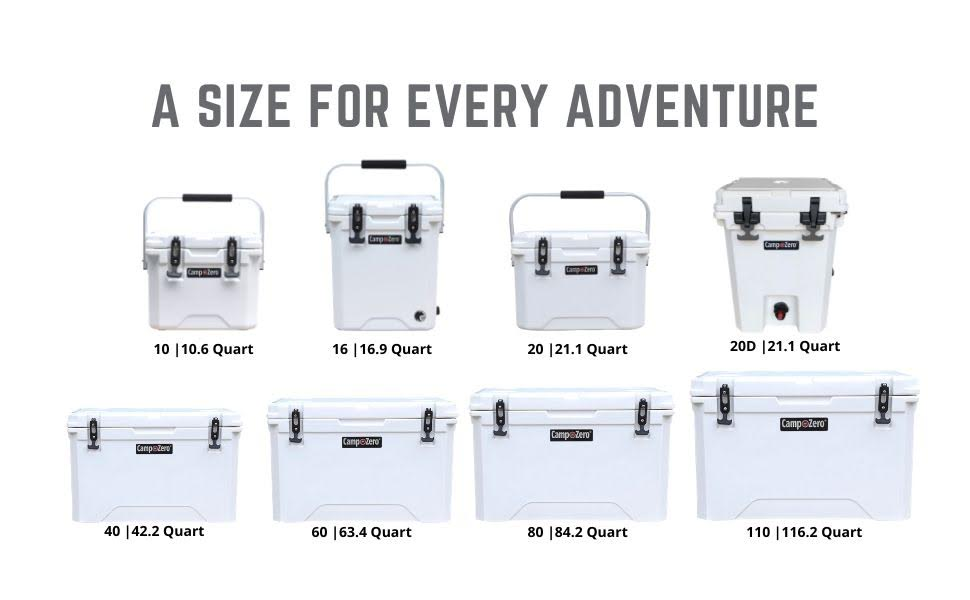 Size for every adventure
