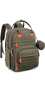 Neutral Fashion Diaper Backpack