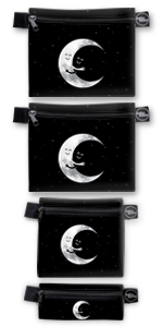 reusable snack sandwich bags food bag dishwasher safe kids adults premium eco moon set lunch cute si