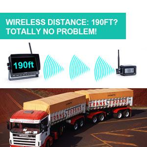 190ft wireless distance