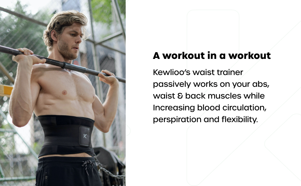 waist trainer  abs, waist & back muscles  Increasing blood circulation perspiration flexibility.