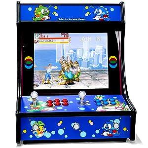 maquina recreativa, bartop, recreativos, maquina de juego retro, juegos retro, mame, sega, neogeo