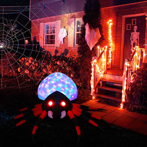 inflatable decoration halloween inflatable decor inflatable spider lighted halloween decoration