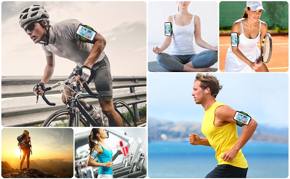 Brazalete Deportivo Running para Móviles iPhone XS/XS MAX/XR/7 ...