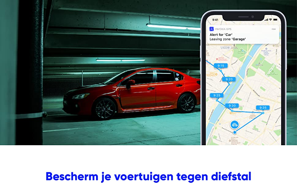 zonder simkaart, Invoxia GPS-tracker, GPS tracker, traker, antidiefstal, sigfox, alzheimer, ifttt