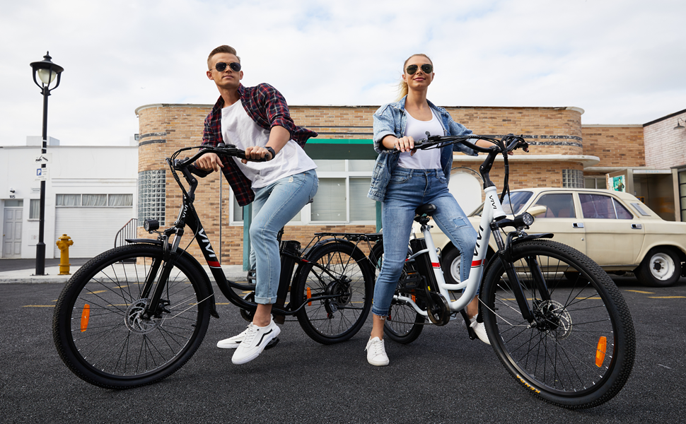 VIVI ebike 3 wheel electric bicycle electric bikes for adults 30mph electric motorcycle for adults