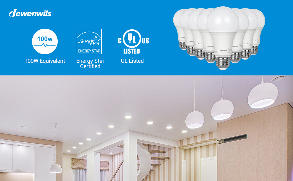 100W Replacement 5000K LED Bulb