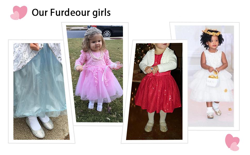 little girls flower shoes