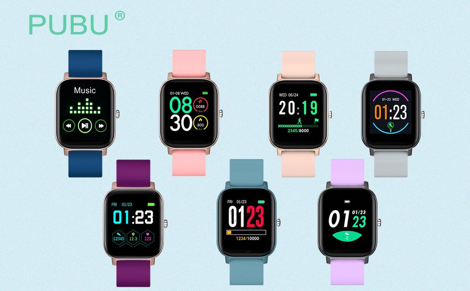 PUBU fitness tracker