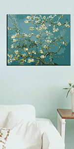 Apricot Blossom by Van Gogh