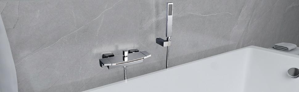 Wall Mounted Tub Faucet