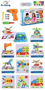 Haifeng 193 pieces Toy drill set