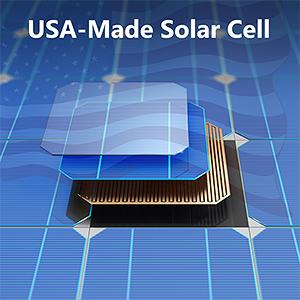 usa-made sunpower solar cells