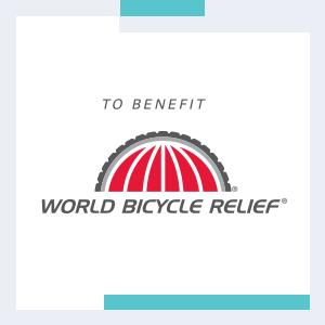 donatie aan het world bicycle relief