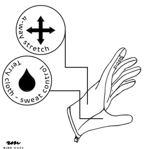 Profi Handschuhe mit 4-Wege Stretch