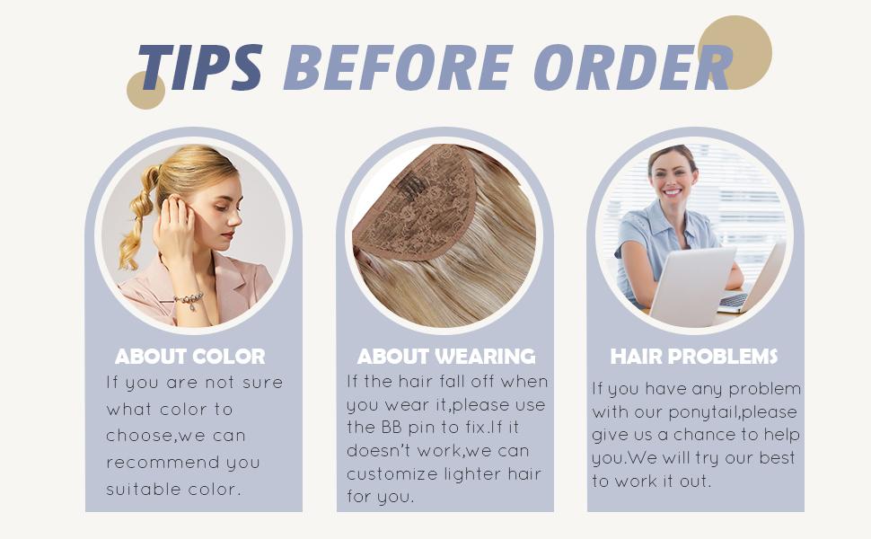 ponytail extension brown balayage