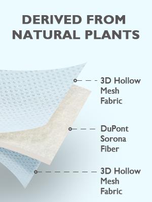 Sorona fiber baby pillow