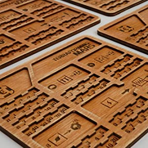 Wooden player boards for terraforming mars