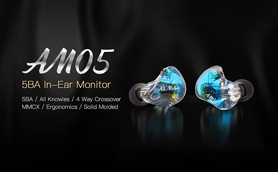 iBasso AM05 Audiophile In-Ear Monitor (IEM)