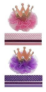 Baby birthday crown headband 1st crown