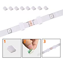 Led Strip Hooks with Strong Adhesive on the Back