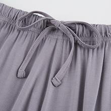 elastic drawstring waist