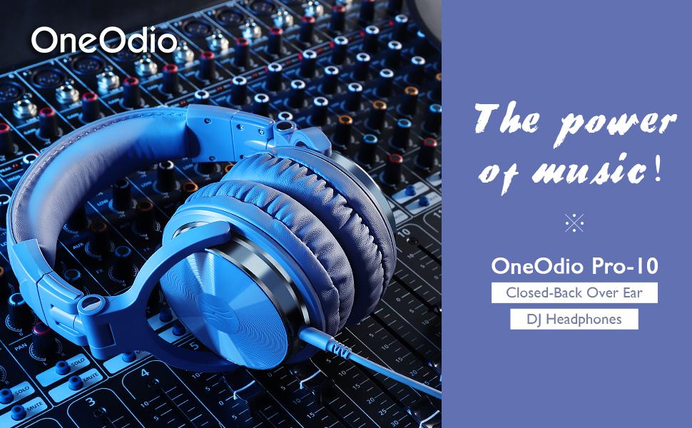 studio wired headphone