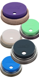Mason_jar_lifestyle_silicone_lid_straw_hole_spill_proof_to_go_leak_proof_Ball_regular_wide_mouth