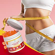 apple cider vinegar gummies weight loss burn fat calories curb appetite prevent overeating tasty