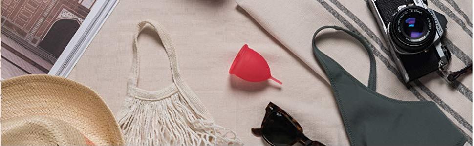 Copa menstrual Saalt en paquete de 2 unidades - La copa más cómoda para el período - Copa n.º 1 - Suave, flexible y reutilizable - Silicona de grado ...
