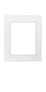 11 x 14 inch for 8.5x11 print single matting white color