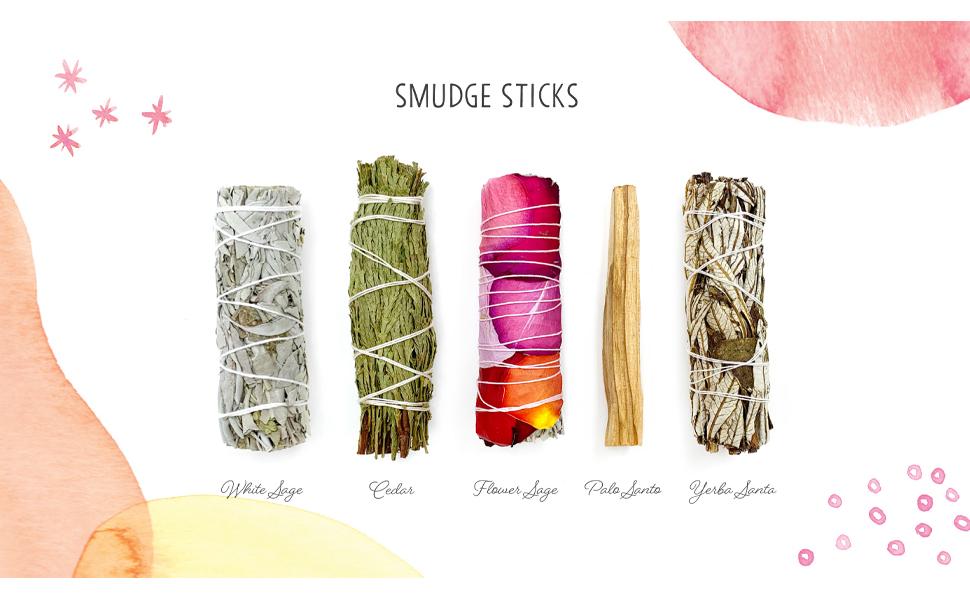 smudging sticks calfiornia white sage bundles