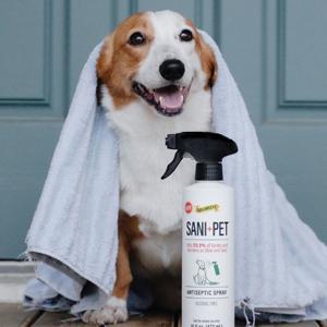 towel dry off
